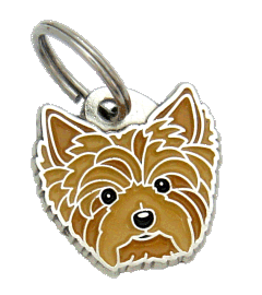 ЙОРКШИРСКИЙ ТЕРЬЕР - pet ID tag, dog ID tags, pet tags, personalized pet tags MjavHov - engraved pet tags online
