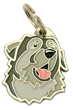 КРАШСКАЯ ОВЧАРКА - pet ID tag, dog ID tags, pet tags, personalized pet tags MjavHov - engraved pet tags online