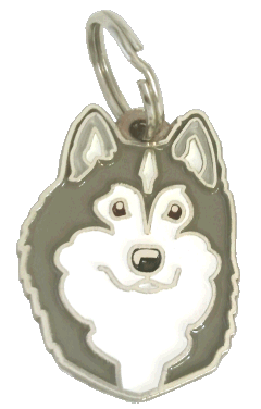 АЛЯСКИНСКИЙ МАЛАМУТ - pet ID tag, dog ID tags, pet tags, personalized pet tags MjavHov - engraved pet tags online