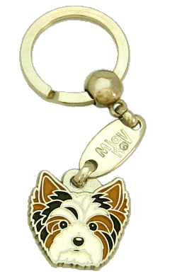 БИВЕР-ЙОРКШИРСКИЙ ТЕРЬЕР - pet ID tag, dog ID tags, pet tags, personalized pet tags MjavHov - engraved pet tags online