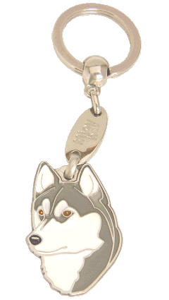 СИБИРСКИЙ ХАСКИ, СМУГЛЫ ГЛАЗА - pet ID tag, dog ID tags, pet tags, personalized pet tags MjavHov - engraved pet tags online