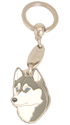СИБИРСКИЙ ХАСКИ - pet ID tag, dog ID tags, pet tags, personalized pet tags MjavHov - engraved pet tags online