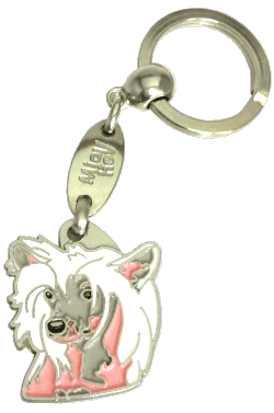 КИТАЙСКАЯ ХОХЛАТАЯ СОБАКА - pet ID tag, dog ID tags, pet tags, personalized pet tags MjavHov - engraved pet tags online