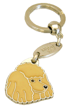 ПУДЕЛЬ - АБРИКОС - pet ID tag, dog ID tags, pet tags, personalized pet tags MjavHov - engraved pet tags online