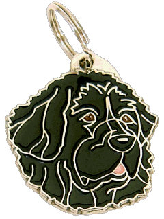 NEWFOUNDLANDSHUND - pet ID tag, dog ID tags, pet tags, personalized pet tags MjavHov - engraved pet tags online