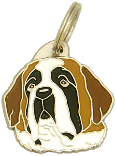 SANKTBERNHARDSHUND - pet ID tag, dog ID tags, pet tags, personalized pet tags MjavHov - engraved pet tags online