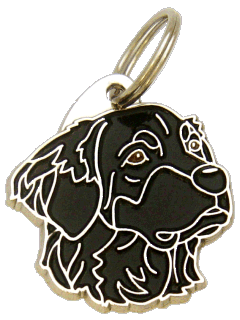 HOVAWART SVART - pet ID tag, dog ID tags, pet tags, personalized pet tags MjavHov - engraved pet tags online