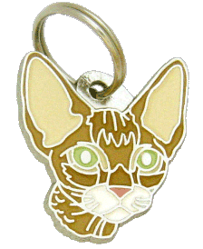 DEVON REX BRUN - pet ID tag, dog ID tags, pet tags, personalized pet tags MjavHov - engraved pet tags online