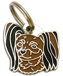 RUSSISK TOY SVARTE ØRER - pet ID tag, dog ID tags, pet tags, personalized pet tags MjavHov - engraved pet tags online