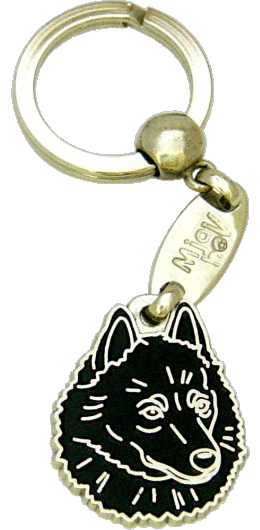 SCHIPPERKE - pet ID tag, dog ID tags, pet tags, personalized pet tags MjavHov - engraved pet tags online