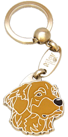 HOVAWART BRUN - pet ID tag, dog ID tags, pet tags, personalized pet tags MjavHov - engraved pet tags online