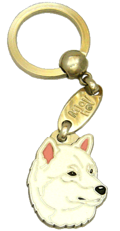 SHIBA HVIT - pet ID tag, dog ID tags, pet tags, personalized pet tags MjavHov - engraved pet tags online
