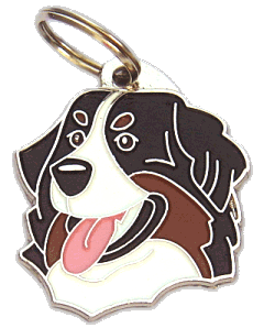 Berneński pies pasterski - pet ID tag, dog ID tags, pet tags, personalized pet tags MjavHov - engraved pet tags online