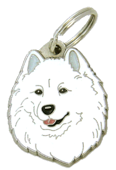 Samojed - pet ID tag, dog ID tags, pet tags, personalized pet tags MjavHov - engraved pet tags online