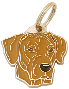 Rhodesian ridgeback - pet ID tag, dog ID tags, pet tags, personalized pet tags MjavHov - engraved pet tags online