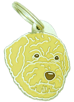 Lagotto romagnolo pomarańczowy - pet ID tag, dog ID tags, pet tags, personalized pet tags MjavHov - engraved pet tags online