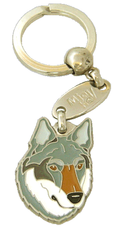 Wilczak czechosłowacki - pet ID tag, dog ID tags, pet tags, personalized pet tags MjavHov - engraved pet tags online