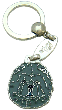 Chow chow błękitny - pet ID tag, dog ID tags, pet tags, personalized pet tags MjavHov - engraved pet tags online