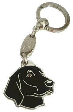 Flat coated retriever - pet ID tag, dog ID tags, pet tags, personalized pet tags MjavHov - engraved pet tags online