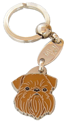 Gryfonik brukselski - pet ID tag, dog ID tags, pet tags, personalized pet tags MjavHov - engraved pet tags online