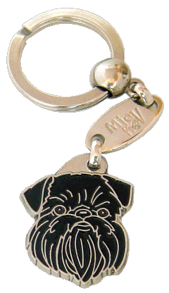 Gryfonik belgijski - pet ID tag, dog ID tags, pet tags, personalized pet tags MjavHov - engraved pet tags online