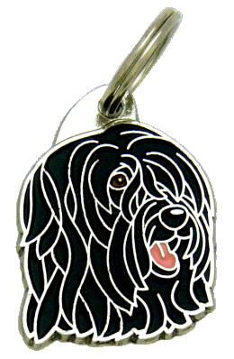 BRIARD SORT - pet ID tag, dog ID tags, pet tags, personalized pet tags MjavHov - engraved pet tags online