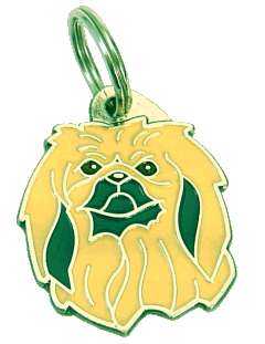 PEKINGESER - pet ID tag, dog ID tags, pet tags, personalized pet tags MjavHov - engraved pet tags online