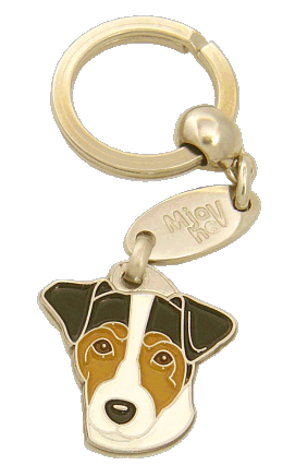 RUSSELL TERRIER TREFARVET - pet ID tag, dog ID tags, pet tags, personalized pet tags MjavHov - engraved pet tags online