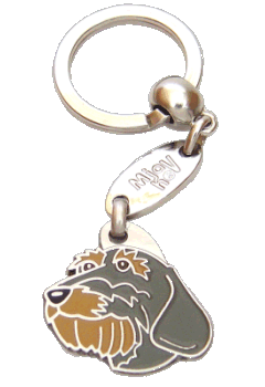 GRAVHUND RUHÅRET - pet ID tag, dog ID tags, pet tags, personalized pet tags MjavHov - engraved pet tags online