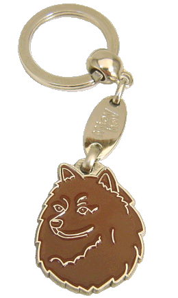 SPIDS BRUN - pet ID tag, dog ID tags, pet tags, personalized pet tags MjavHov - engraved pet tags online