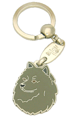 SPIDS GRÅ - pet ID tag, dog ID tags, pet tags, personalized pet tags MjavHov - engraved pet tags online