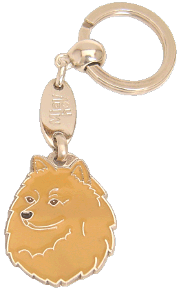 SPIDS RØD - pet ID tag, dog ID tags, pet tags, personalized pet tags MjavHov - engraved pet tags online