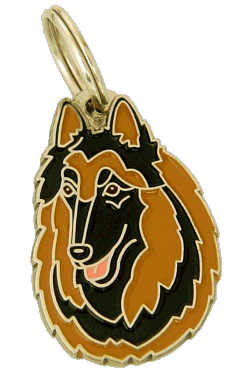 BELGISK VALLHUND, TERVUEREN - pet ID tag, dog ID tags, pet tags, personalized pet tags MjavHov - engraved pet tags online
