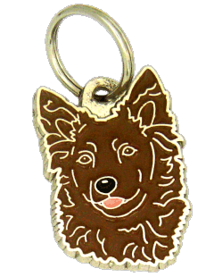 MUDI BRUN - pet ID tag, dog ID tags, pet tags, personalized pet tags MjavHov - engraved pet tags online