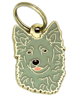 MUDI GRÅ - pet ID tag, dog ID tags, pet tags, personalized pet tags MjavHov - engraved pet tags online