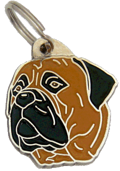 BULLMASTIFF - pet ID tag, dog ID tags, pet tags, personalized pet tags MjavHov - engraved pet tags online