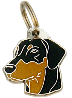 DOBERMANN - pet ID tag, dog ID tags, pet tags, personalized pet tags MjavHov - engraved pet tags online