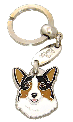 WELSH CORGI - pet ID tag, dog ID tags, pet tags, personalized pet tags MjavHov - engraved pet tags online