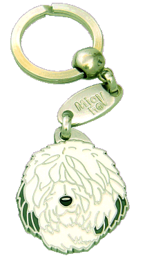OLD ENGLISH SHEEPDOG, BOBTAIL - pet ID tag, dog ID tags, pet tags, personalized pet tags MjavHov - engraved pet tags online