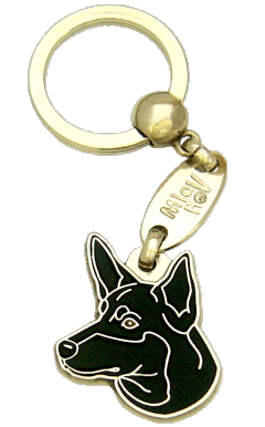 AUSTRALIAN KELPIE SVART - pet ID tag, dog ID tags, pet tags, personalized pet tags MjavHov - engraved pet tags online
