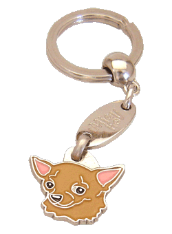 CHIHUAHUA BRUN - pet ID tag, dog ID tags, pet tags, personalized pet tags MjavHov - engraved pet tags online