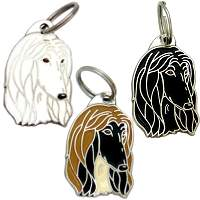 pet tags MjavHov - AFGHAN HOUND