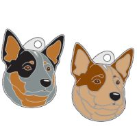 pet tags MjavHov - AUSTRALIAN CATTLE DOG