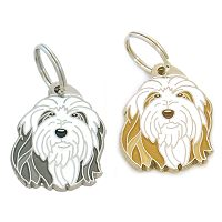 pet tags MjavHov - Bearded collie