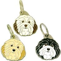pet tags MjavHov - HAVANESE