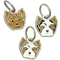 pet tags MjavHov - BIEWER YORKSHIRE TERRIER