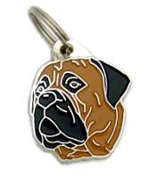 pet tags MjavHov - BULLMASTIFF