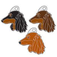 pet tags MjavHov - DACHSHUND LONGHAIRED