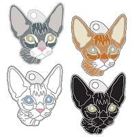 pet tags MjavHov - DEVON REX