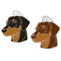 pet tags MjavHov - DOBERMAN